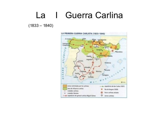 La I Guerra Carlina (1833 – 1840)
