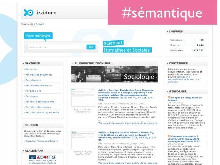 #sémantique
