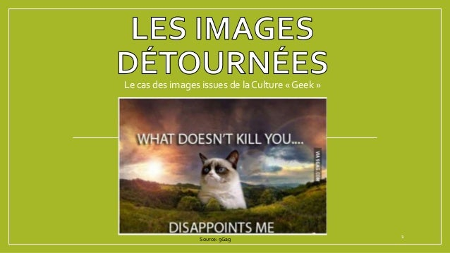 Le cas des images issues de la Culture « Geek » 1Source: 9Gag