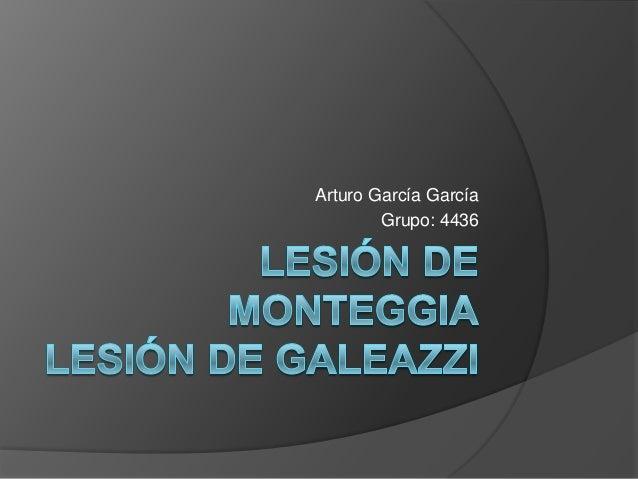 Arturo García García Grupo: 4436
