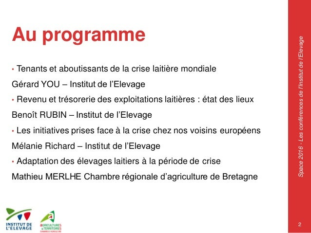 Space 2016 les initiatives pour soutenir les leveurs - Chambre regionale d agriculture pays de la loire ...