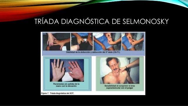 TRÍADA DIAGNÓSTICA DE SELMONOSKY