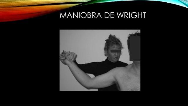 MANIOBRA DE WRIGHT