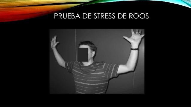 PRUEBA DE STRESS DE ROOS