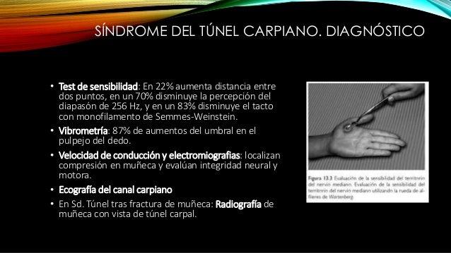 TRATAMIENTO CONSERVADOR • Inmovilización con férula (impide flexión durante la noche). • Tomar medidas ergonómicas y ocupa...
