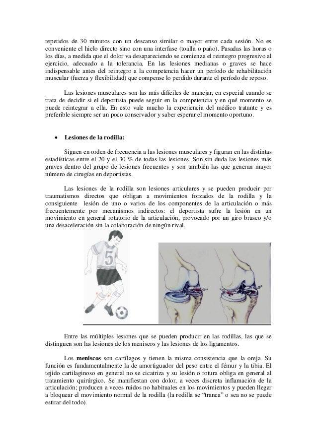 Lesiones deportivas c. voituret