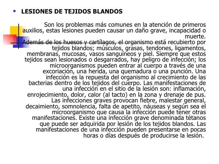 Lesiones de tejidos blandos y hemorragias Slide 2