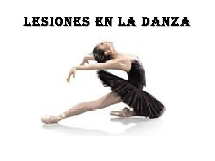 Lesiones en la Danza
