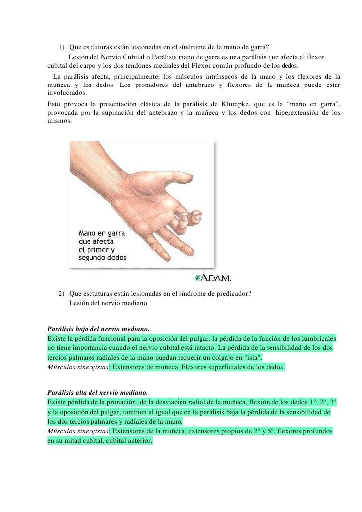 Lesiones manos completo