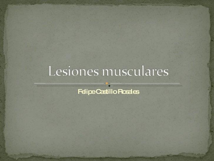 Felipe Castillo Rosales