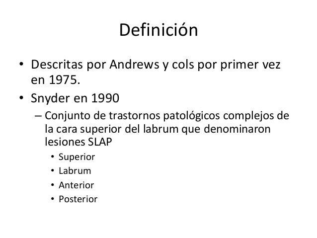 Lesiones slap Slide 2