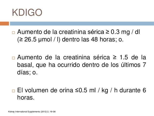 Lesion renal aguda LRA Slide 3