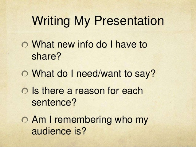 how to make a good presentation essay Make sure that the visual aids chosen are relevant to the subject of the presentation for presentations with a q&a session or where audience participation is required, a great tool for increasing engagement is catchbox.