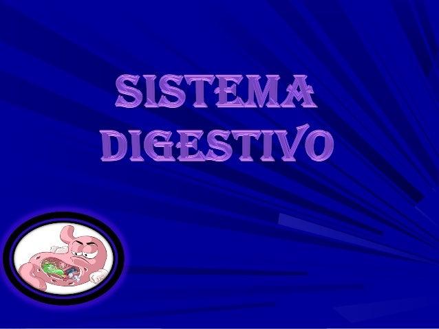 DefiniciónEl aparato digestivo es el encargado delproceso de la digestión, es decir, latransformación de los alimentos par...