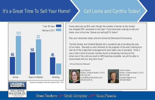 Postcard for Leslie Blevins, Davis Real Estate Agent