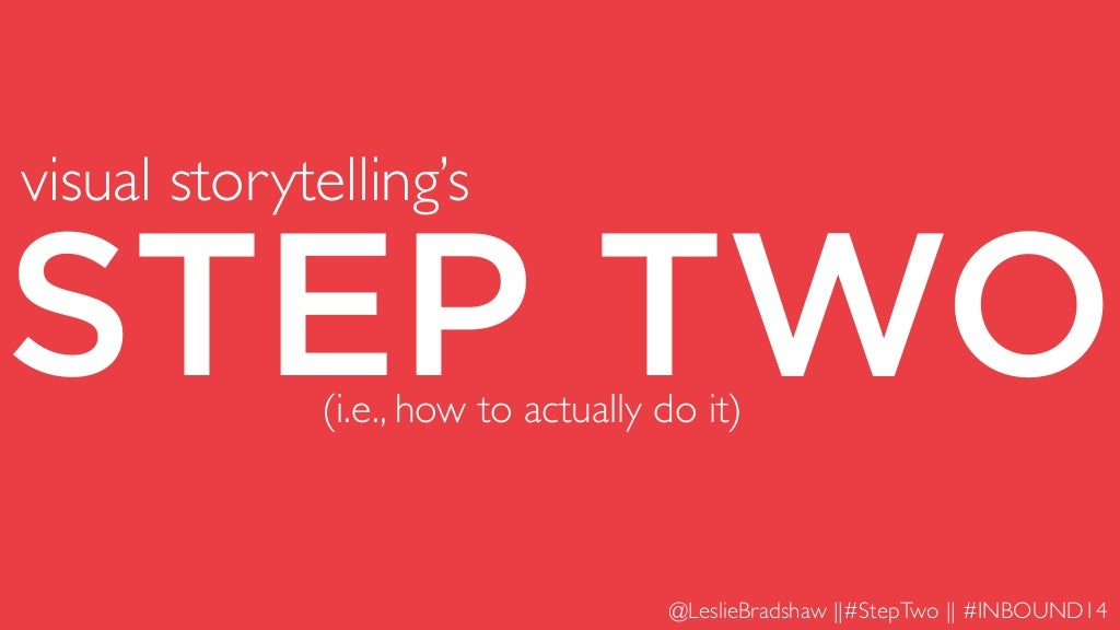 The Secret to Actually Producing Great Visual Storytelling
