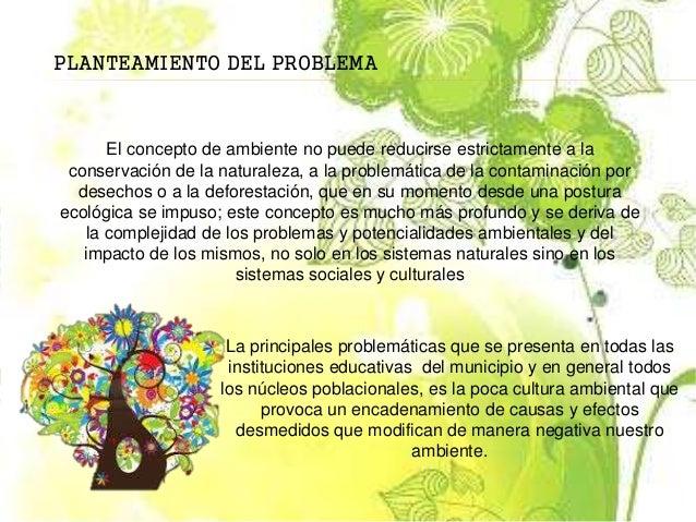 Proyecto escolar ambiental for Proyecto de cafeteria escolar