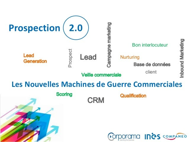 Les Nouvelles Machines de Guerre Commerciales Lead Generation InboundMarketing Nurturing QualificationScoring Lead client ...