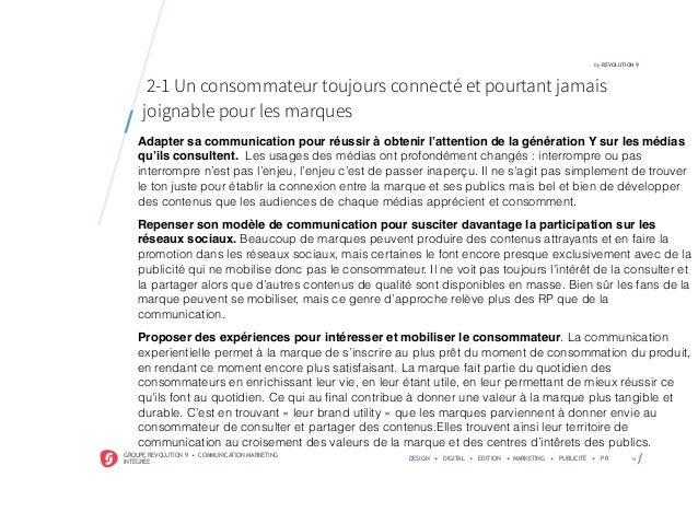 /GROUPE REVOLUTION 9 • COMMUNICATION MARKETING INTÉGRÉE DESIGN • DIGITAL • EDITION • MARKETING • PUBLICITÉ • PR 14 by REVO...