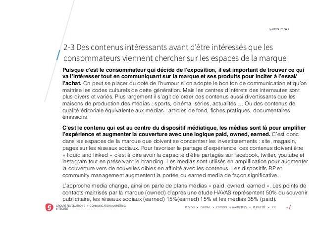 /GROUPE REVOLUTION 9 • COMMUNICATION MARKETING INTÉGRÉE DESIGN • DIGITAL • EDITION • MARKETING • PUBLICITÉ • PR 18 by REVO...
