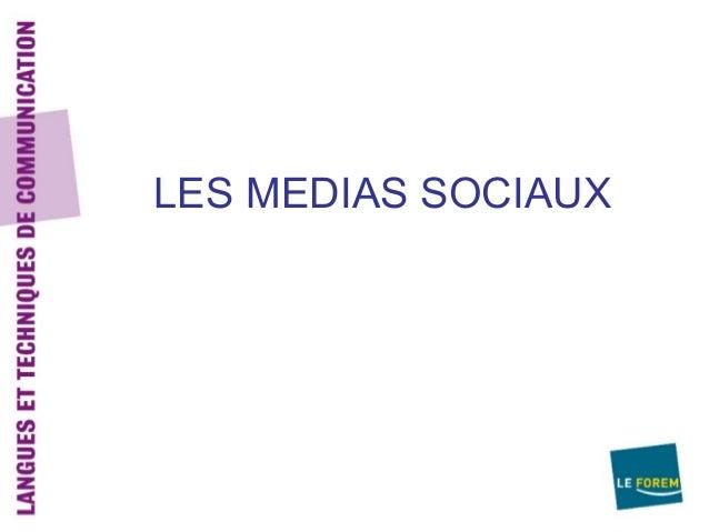LES MEDIAS SOCIAUX