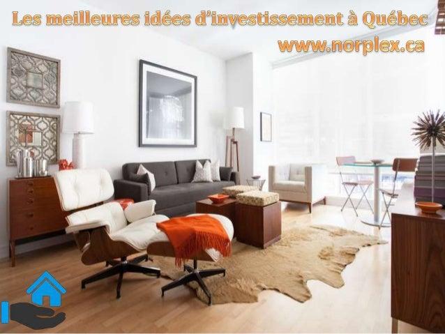 Le Canada est reconnu comme un des meilleurs endroits pour de l'investissement en immobilier. Il y a de superbes projets à...