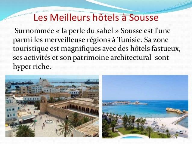 Les meilleurs hôtels à sousse,tunisie