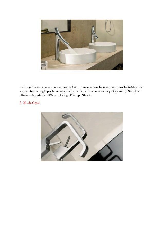 Les meilleurs robinets salle de bain for Meilleur salle de bain