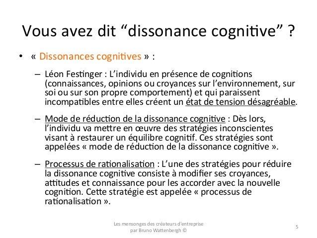 """Vous  avez  dit  """"dissonance  cogniOve""""  ?   • «  Dissonances  cogniOves  »  :     – Léon  Fes..."""