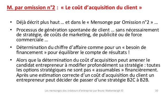 M.  par  omission  n°2  :    «  Le  coût  d'acquisiYon  du  client  »   • Déjà  décrit  plu...
