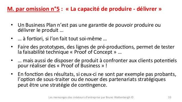 M.  par  omission  n°5  :    «  La  capacité  de  produire  -‐  délivrer  »   • Un  Busine...
