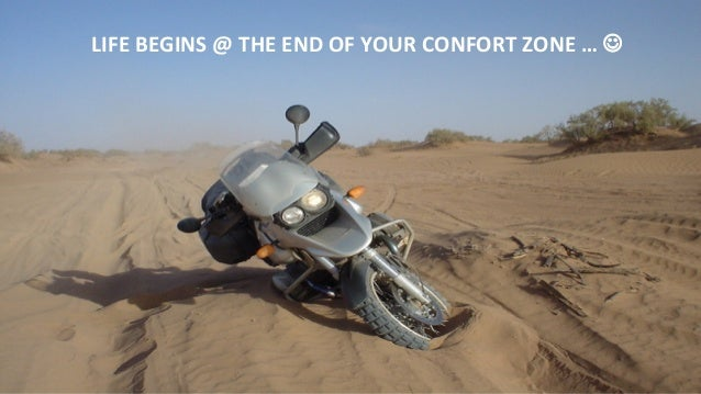 LIFE  BEGINS  @  THE  END  OF  YOUR  CONFORT  ZONE  …  J    Les  mensonges  des  créateurs  ...