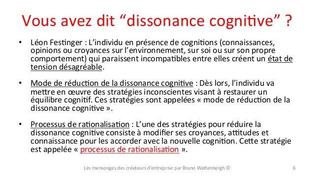 """Vous  avez  dit  """"dissonance  cogniXve""""  ?   • Léon  FesXnger  :  L'individu  en  présence  de  ..."""