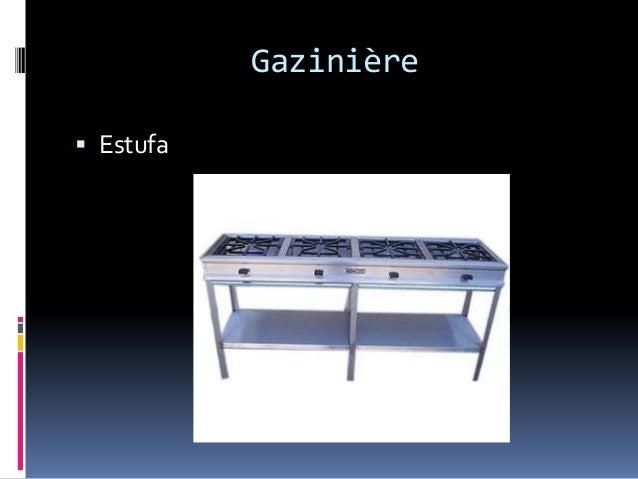 Gazinière  Estufa