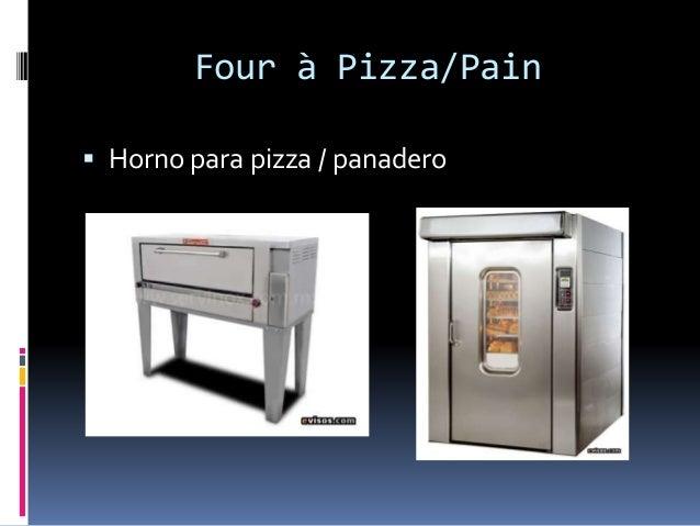 Four à Pizza/Pain  Horno para pizza / panadero