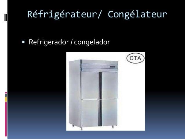 Réfrigérateur/ Congélateur  Refrigerador / congelador