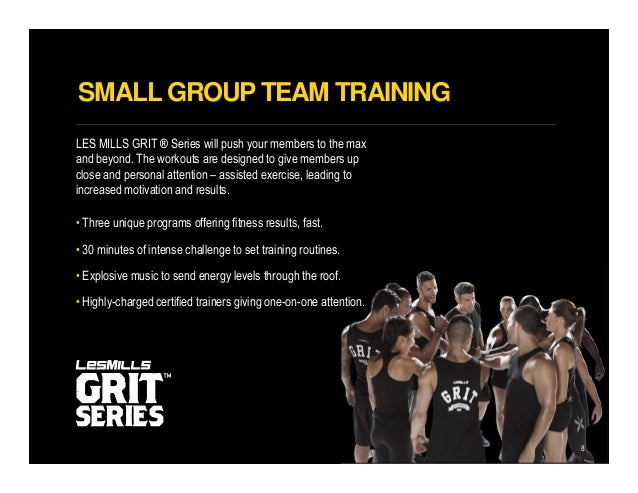 Les Mills GRIT - A Great Small Group Training Solution