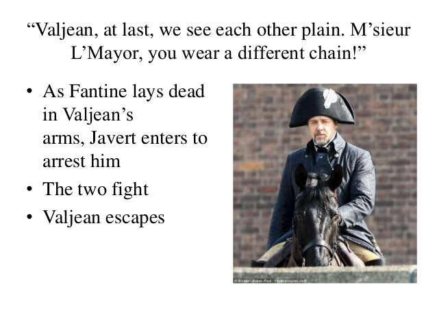 javert and valjean meet the fockers