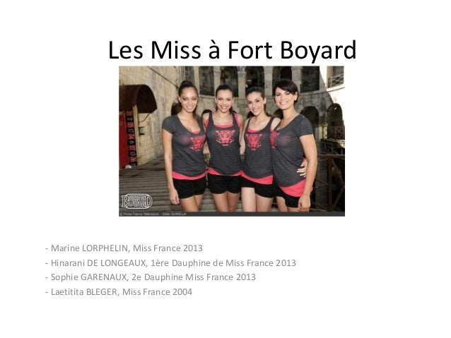 les miss fort boyard. Black Bedroom Furniture Sets. Home Design Ideas