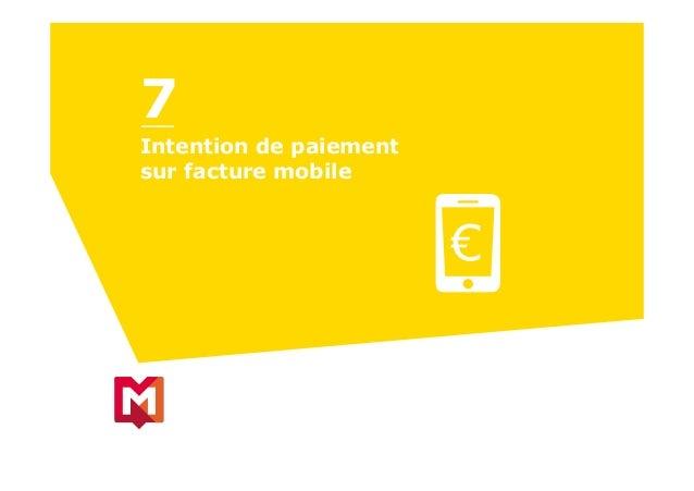 Intention de paiement sur facture mobile