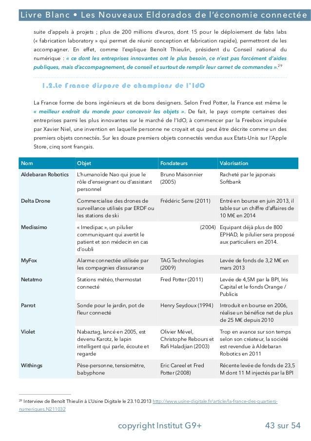 Les nouveaux eldorados de l'economie connectee final-06-12-13