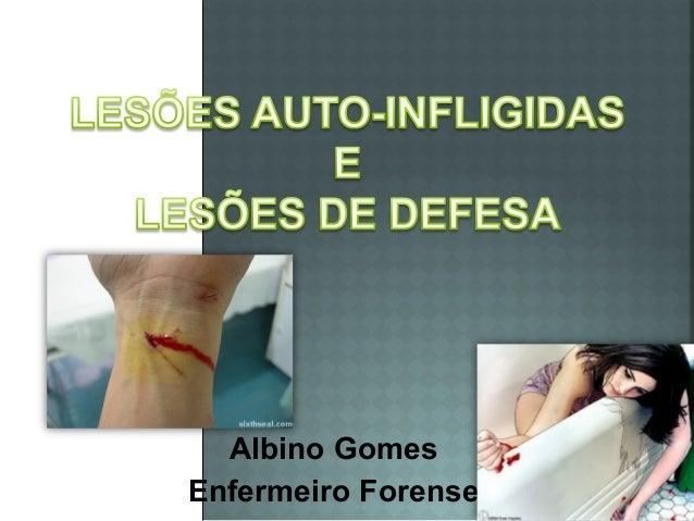 Albino Gomes Enfermeiro Forense