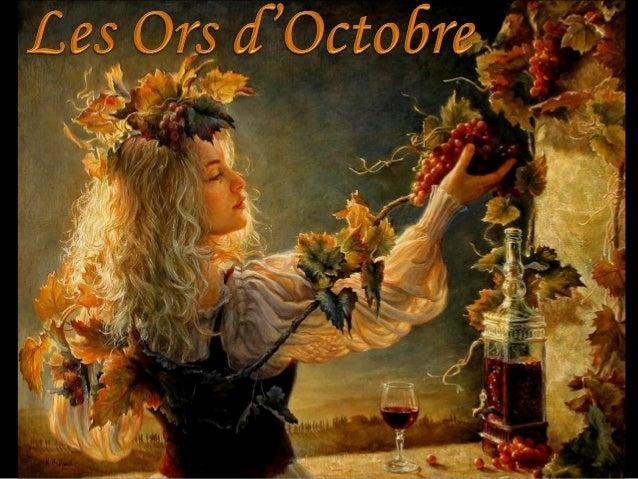 Les ors d'octobre