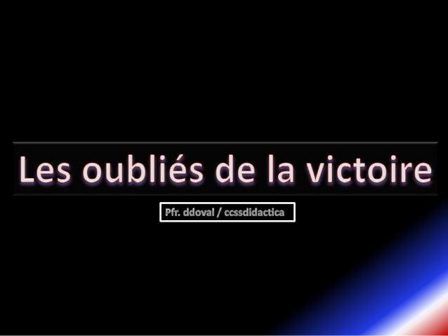 La premier idée que jai eu pour fairecette présentation a était dunpersonnage célèbre comme le GénéralCharles de Gaulle, m...