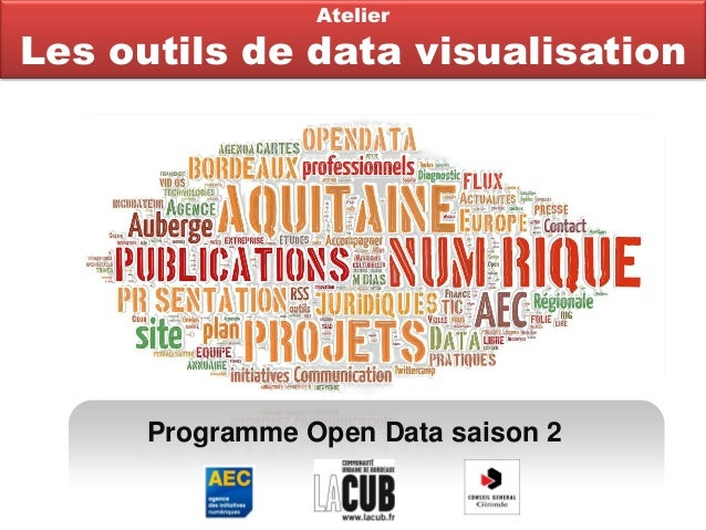 Programme Open Data saison 2AtelierLes outils de data visualisation