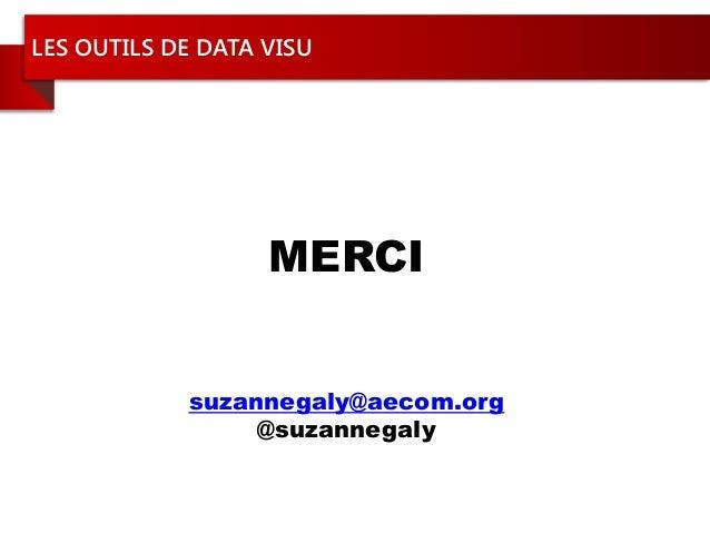 Les outils de data visualisation