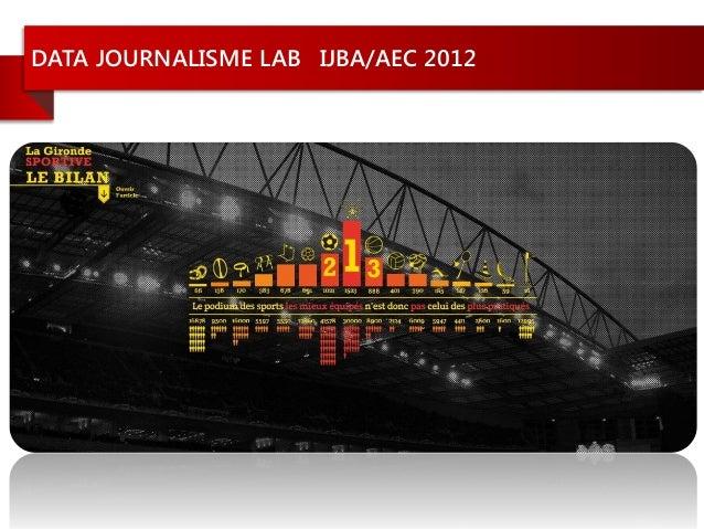 DATA JOURNALISME LAB IJBA/AEC 2012