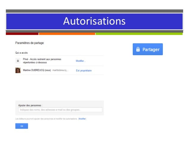 Autorisations