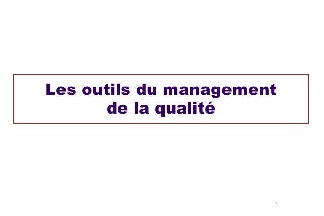 Les outils du management de la qualité  1