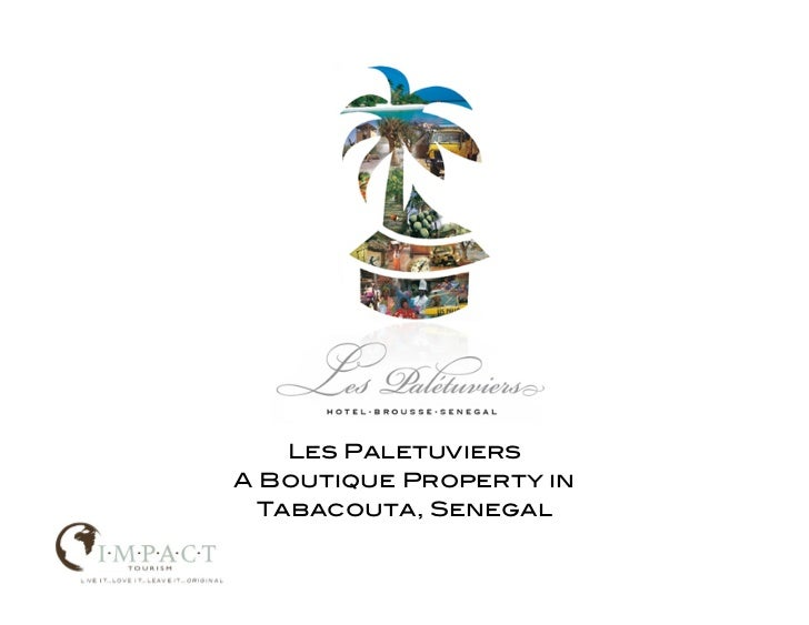 Les PaletuviersA Boutique Property in  Tabacouta, Senegal